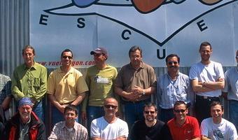 Promoción 2006 de Pilotos de Ultraligeros de la Escuela de Vuelo de Villanueva de Gállego