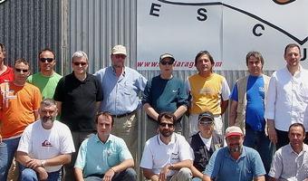 Promoción 2007 de Pilotos de Ultraligeros de la Escuela de Vuelo de Villanueva de Gállego