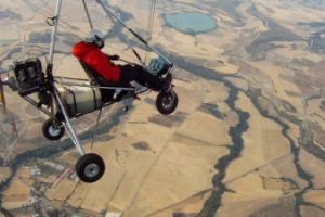 Club de vuelo de ultraligeros en Villanueva de Gállego
